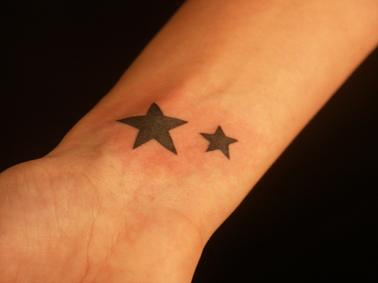 tatouage 2 etoiles coupe du monde