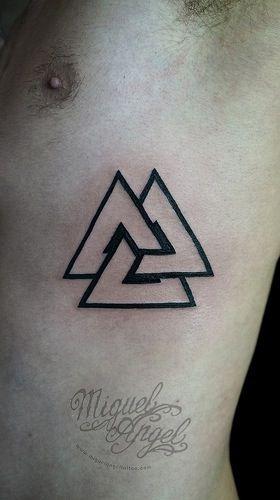 Tatouage 3 Triangle Signification