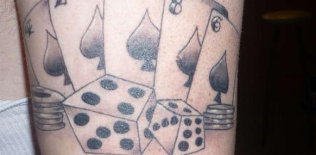 tatouage 4 as carte