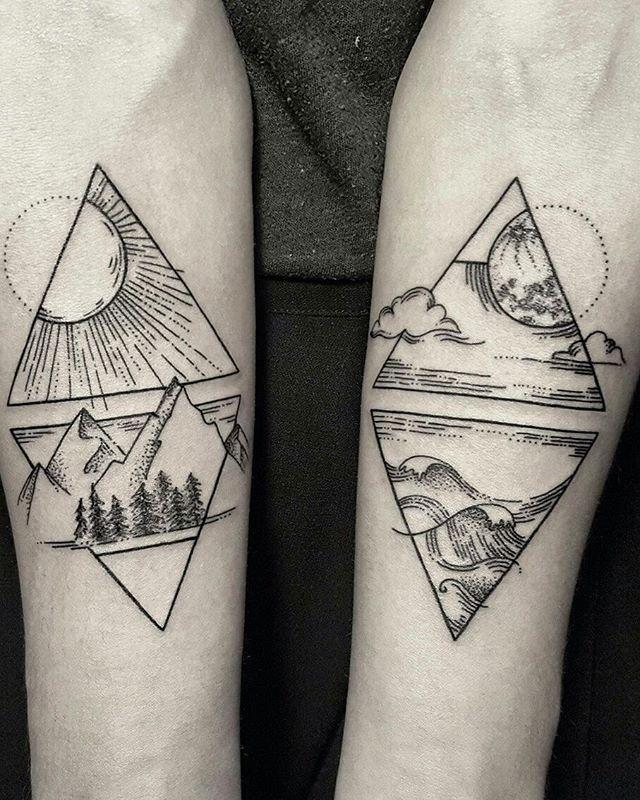 tatouage 4 elements signification