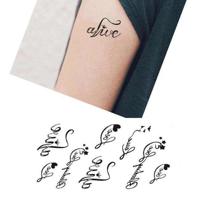 tatouage 5 lettres