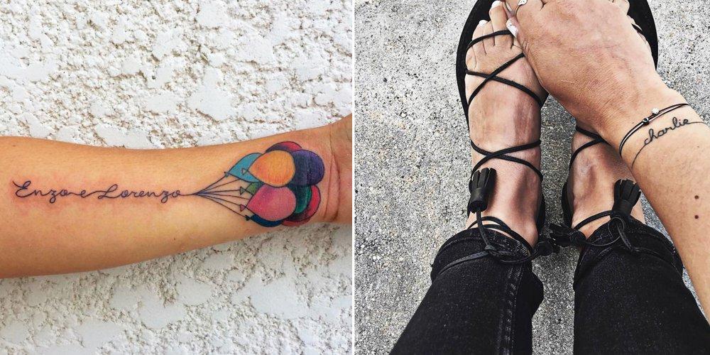 tatouage 5 prenoms
