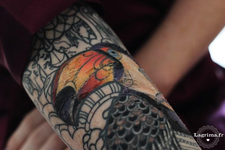 tatouage 6 jours