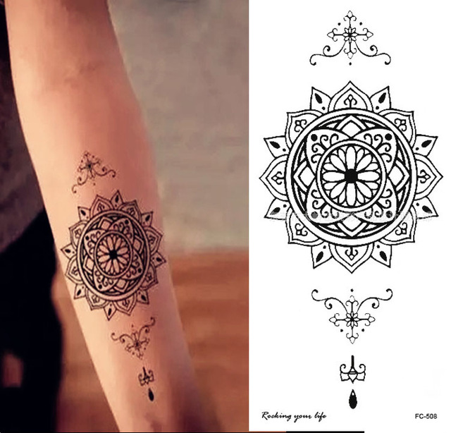 tatouage 8 cm