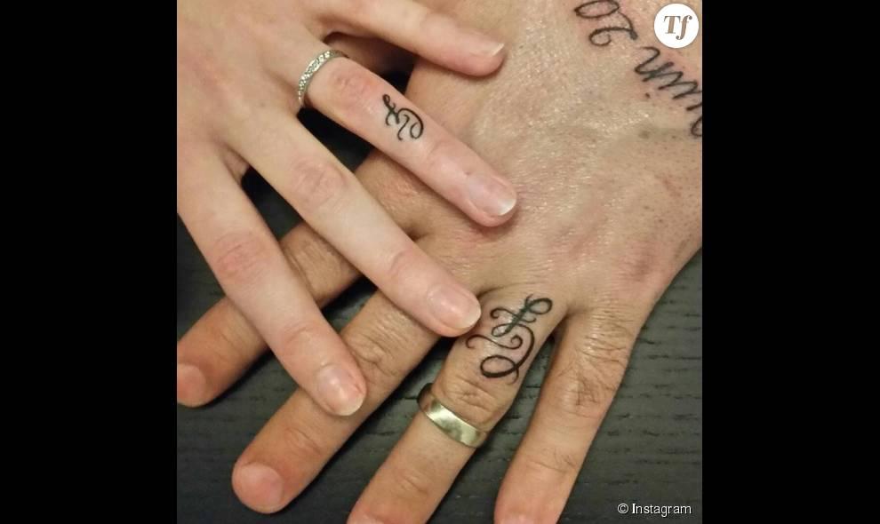 tatouage alliance