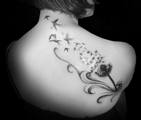 tatouage arabesque