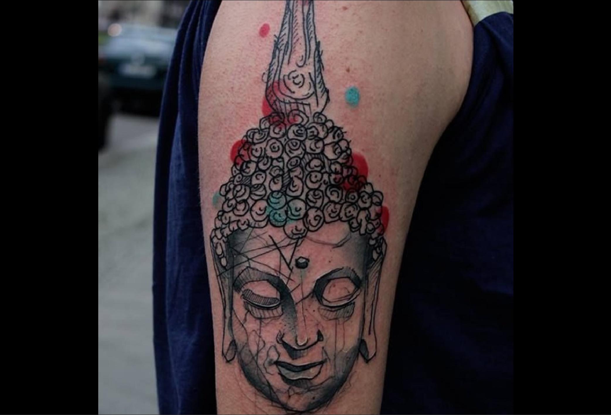tatouage bouddha
