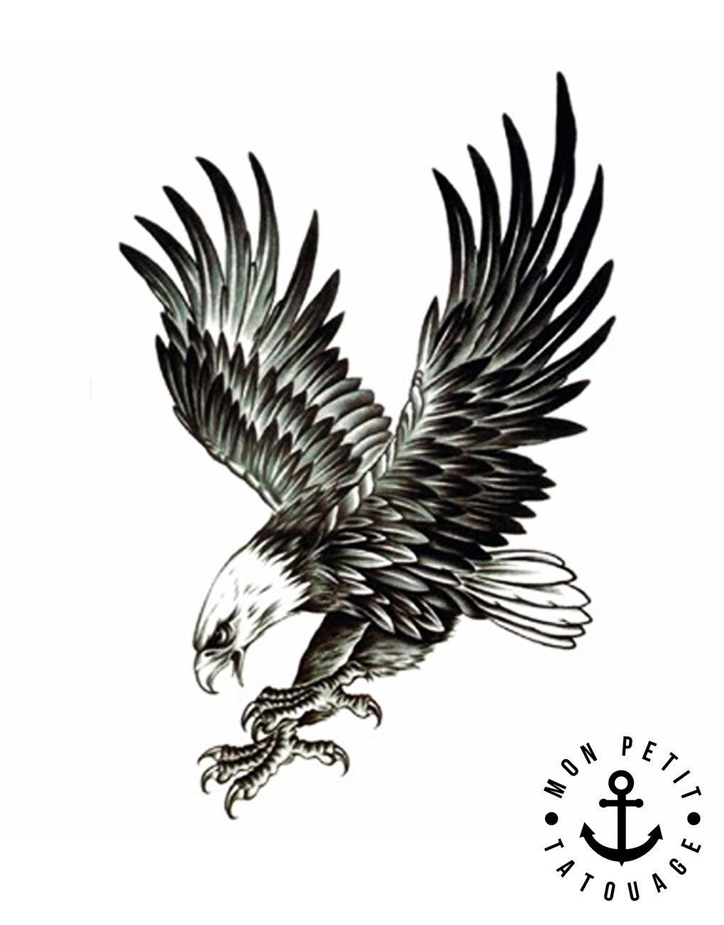 tatouage d'aigle
