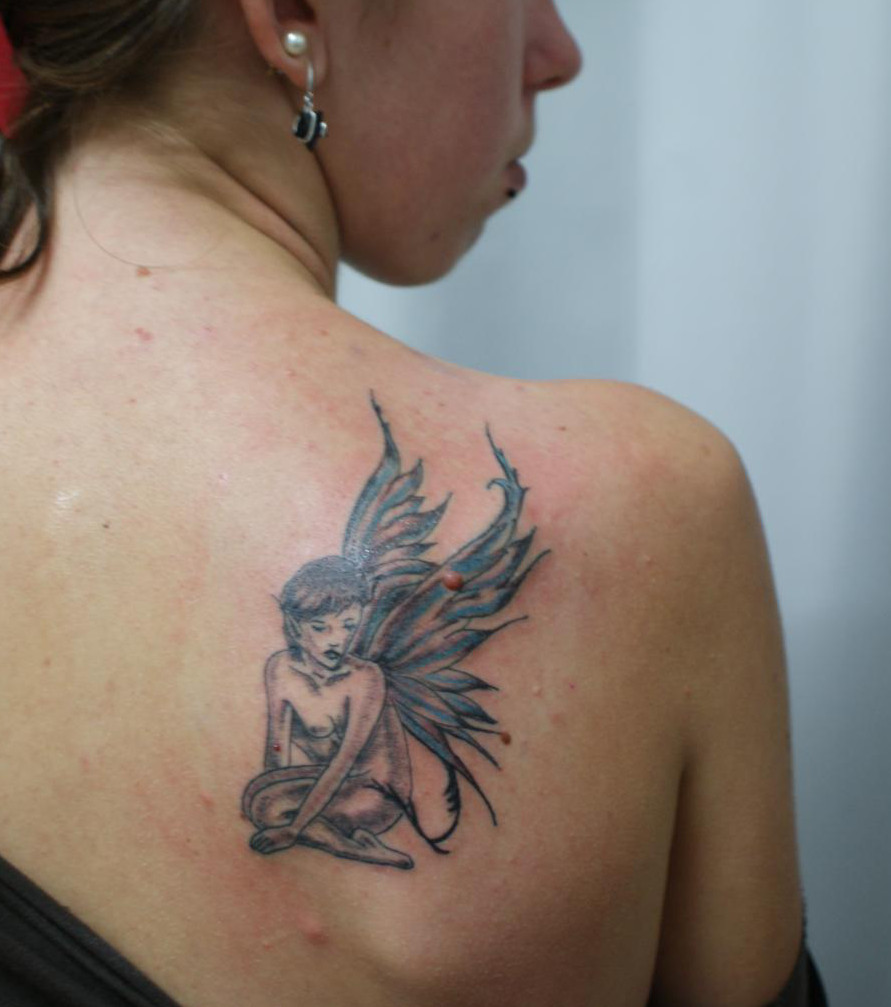tatouage d'ange pour femme