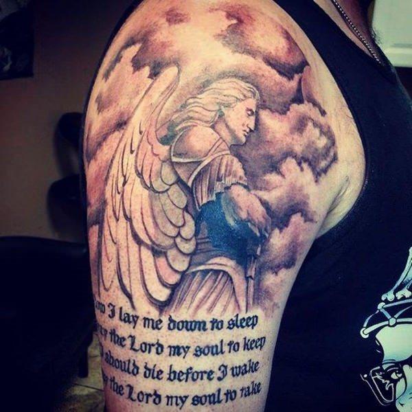tatouage d'ange