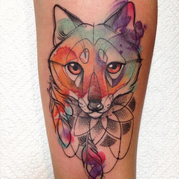 tatouage d'animaux