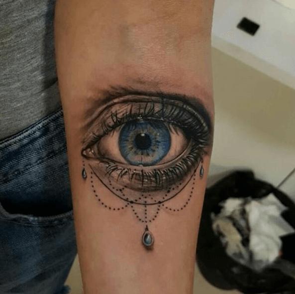 tatouage d'oeil