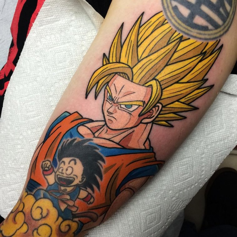 tatouage dragon ball