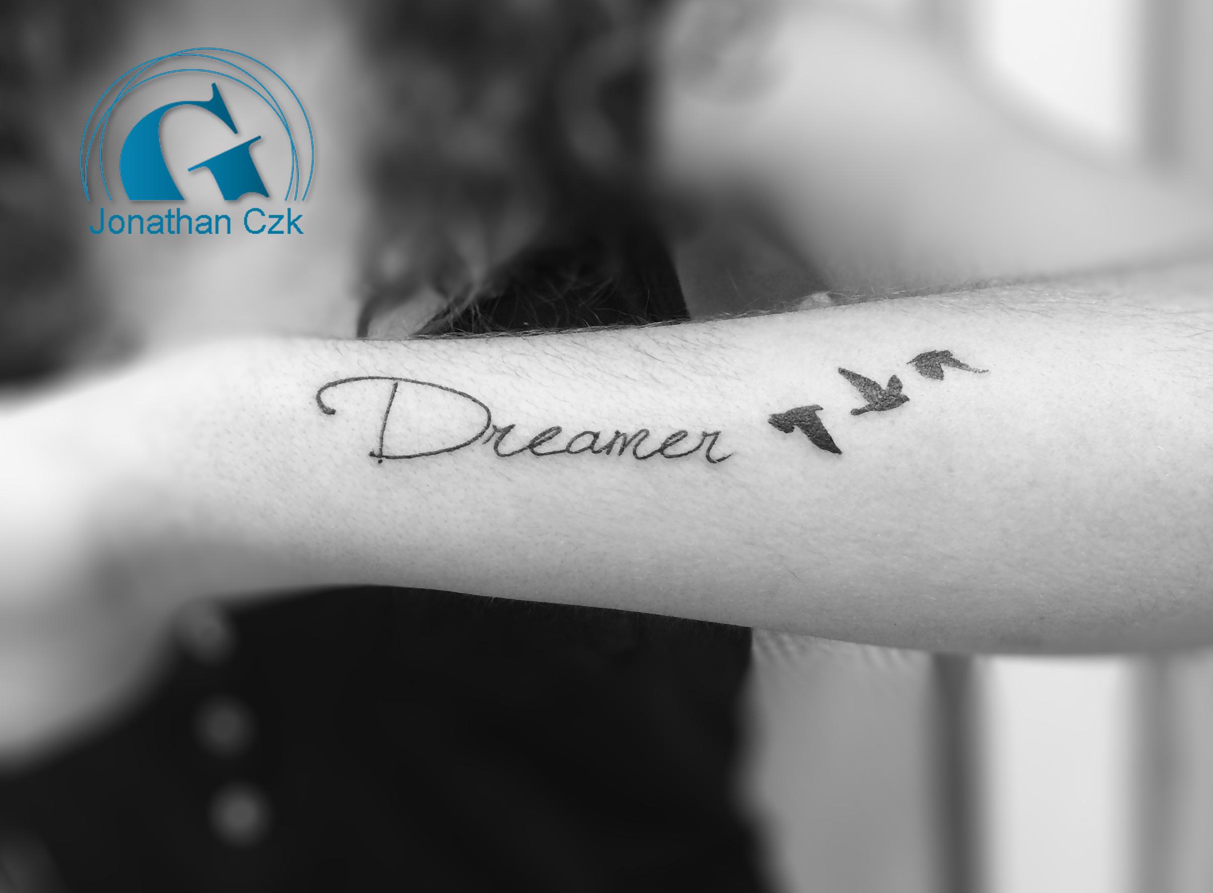 tatouage ecriture