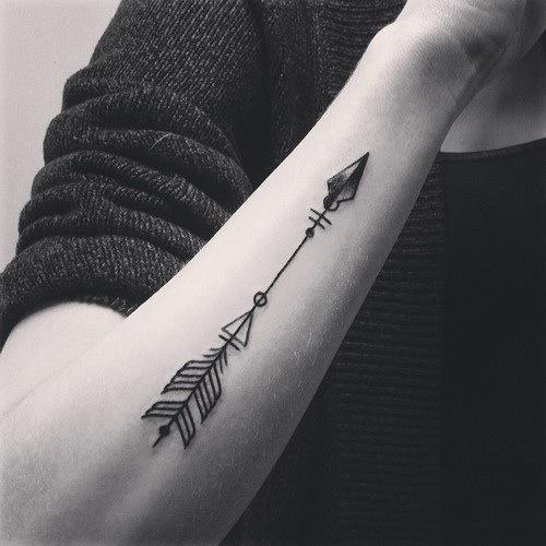tatouage fleche