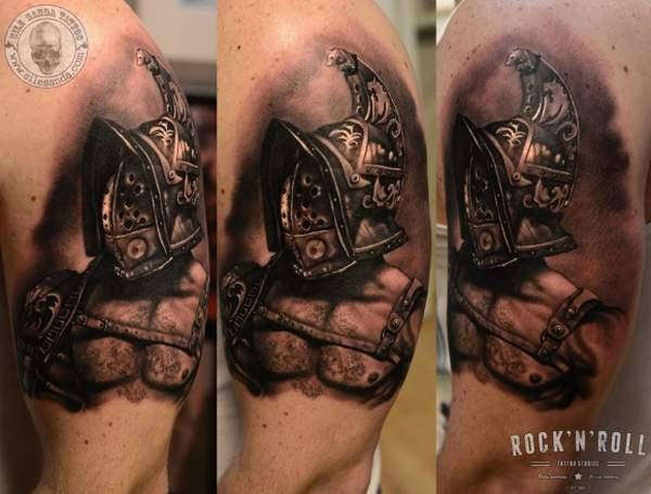 tatouage gladiateur