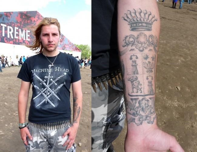 tatouage h hellfest