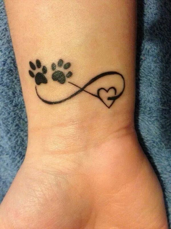 tatouage infinity