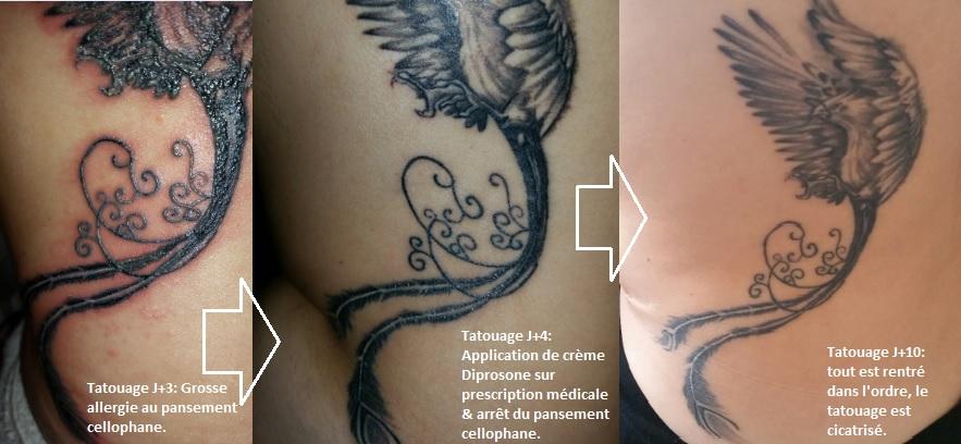 tatouage j+4