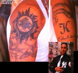 tatouage k maro