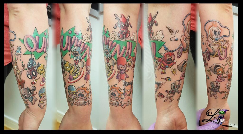 tatouage l'arbresle