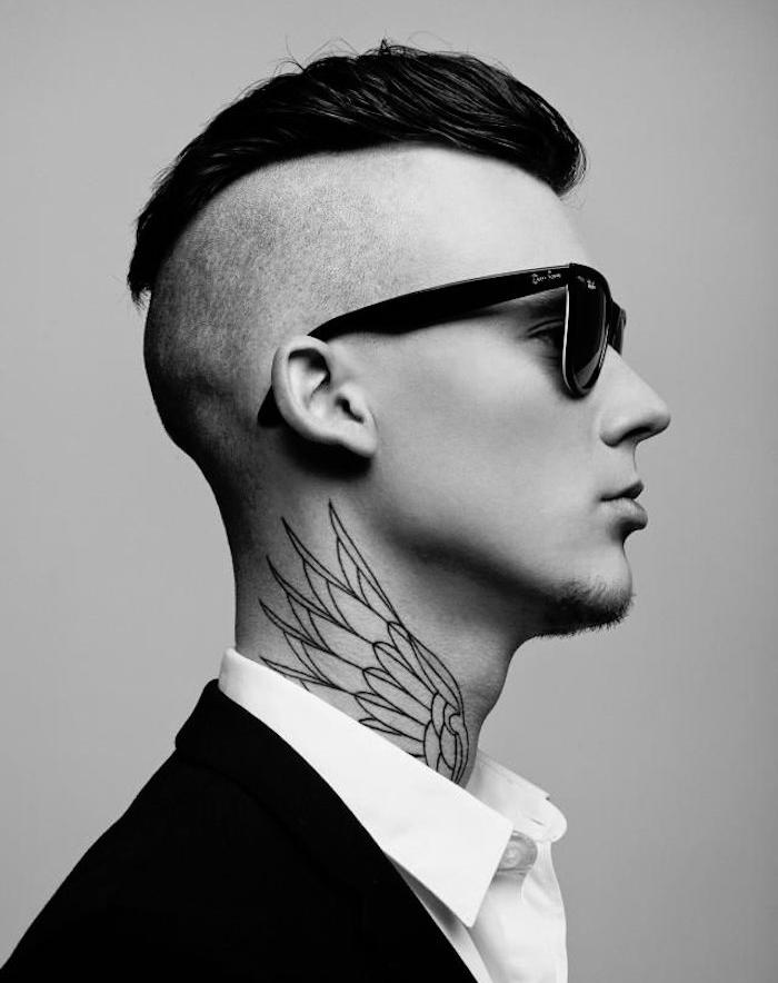 tatouage nuque homme