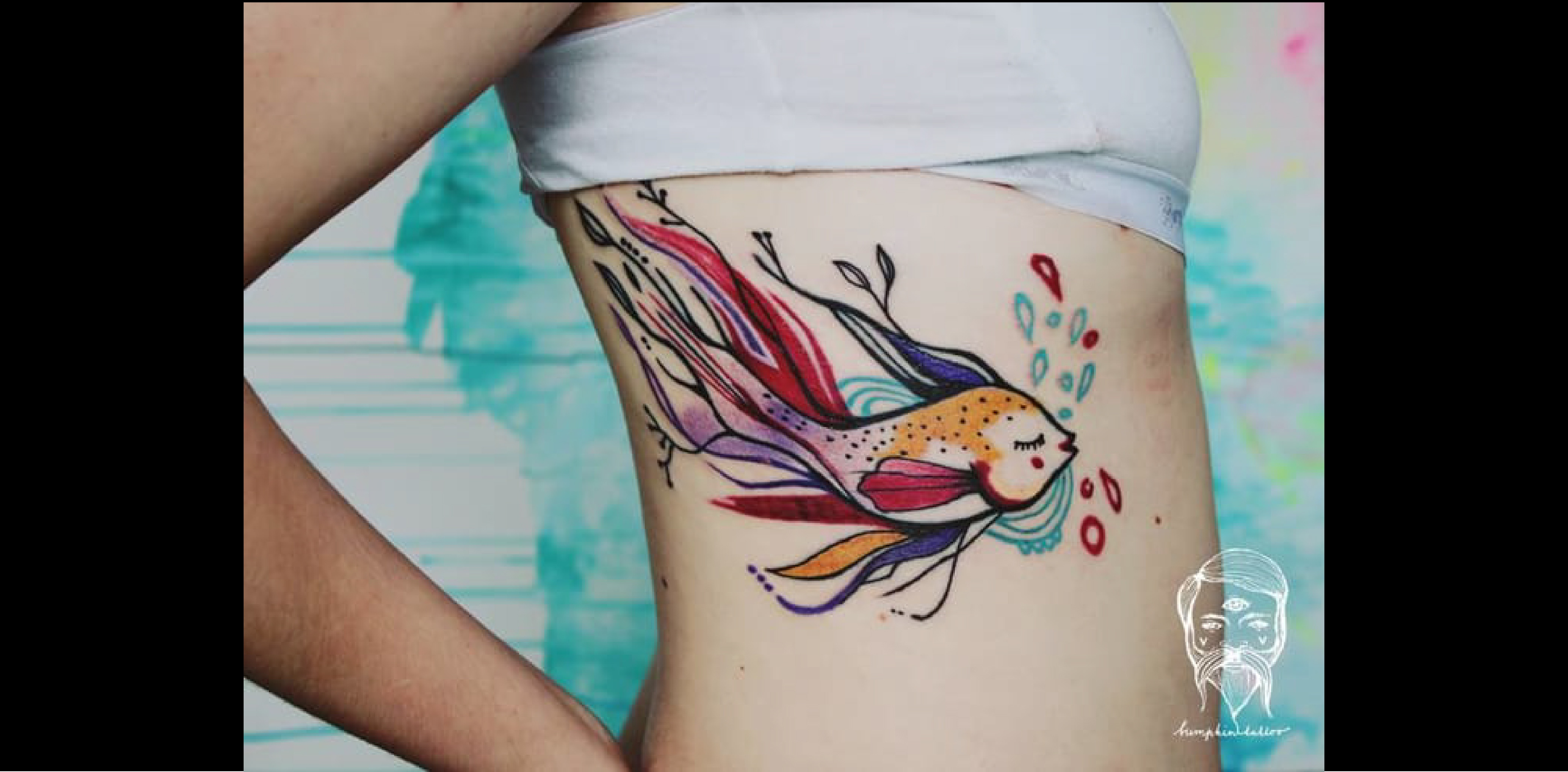 tatouage poisson