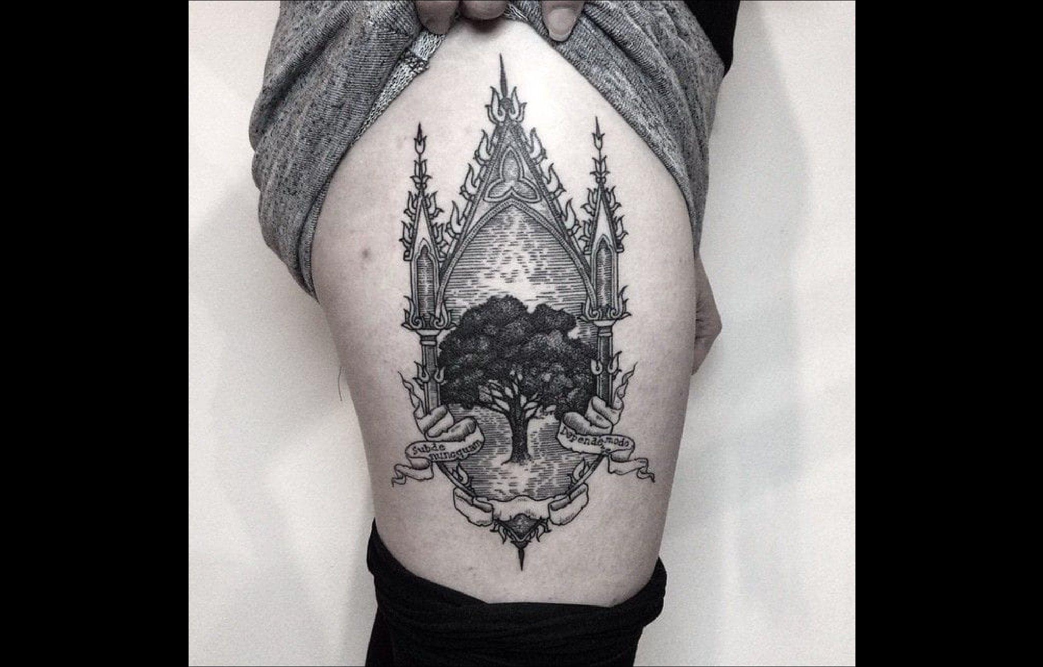 tatouage qui pique