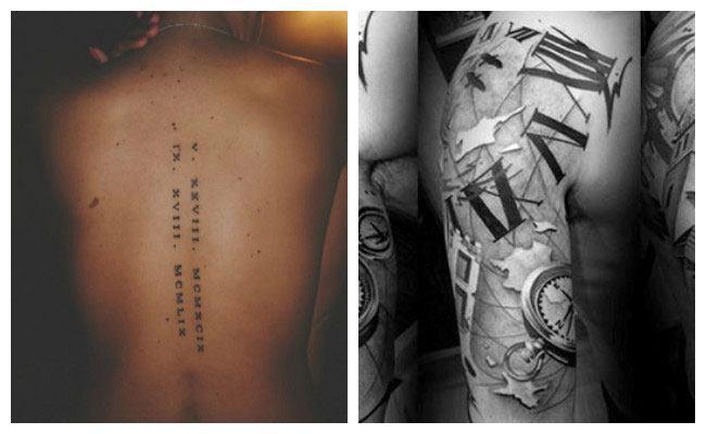 tatouage romain
