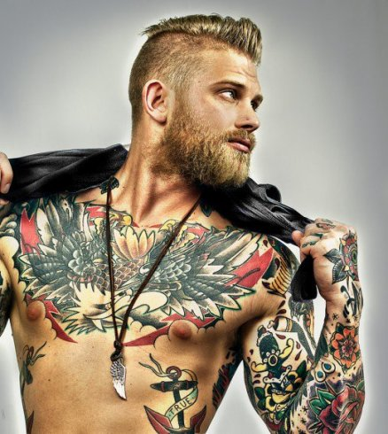 tatouage torse