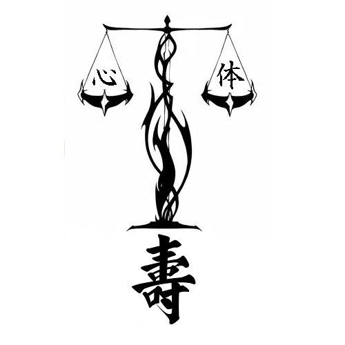 Tatouage tribal balance - Dessin de balance ...