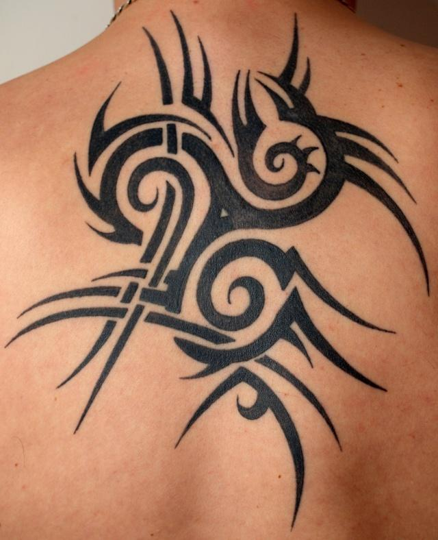 tatouage tribal breton