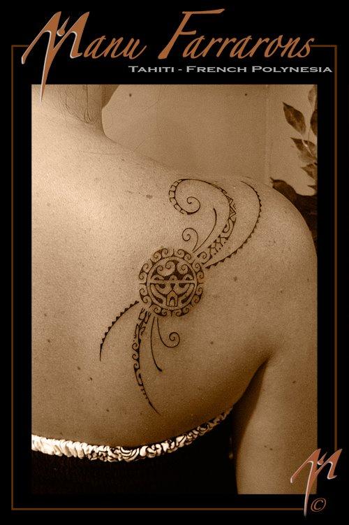 tatouage tribal discret femme