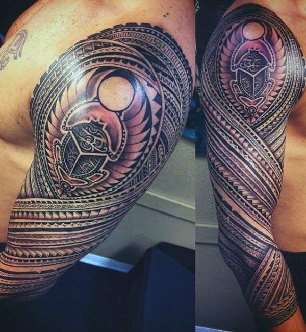 tatouage tribal egyptien
