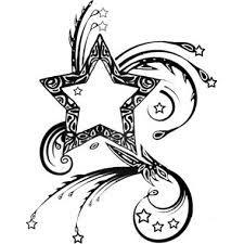 Tatouage Tribal Etoile Filante