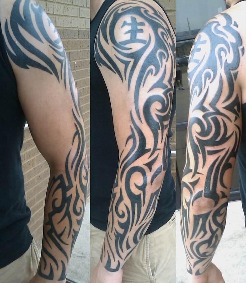 Tatouage Tribal Homme Bras
