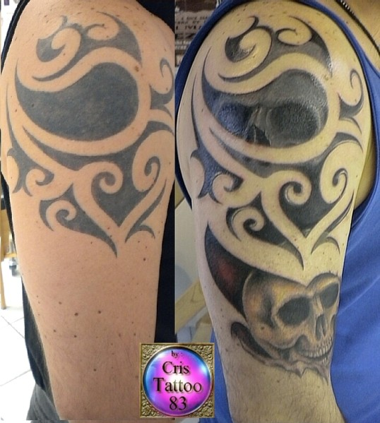 tatouage tribal modifie