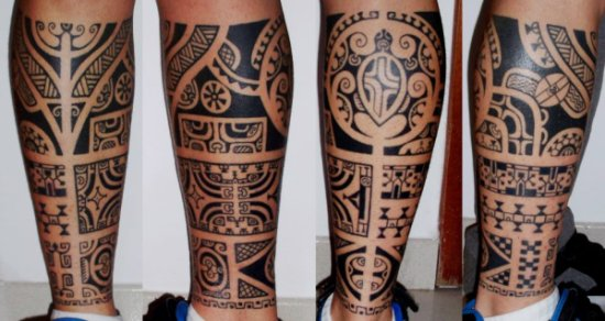 Tatouage Tribal Mollet Signification