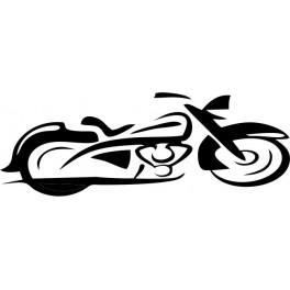 Tatouage Tribal Moto