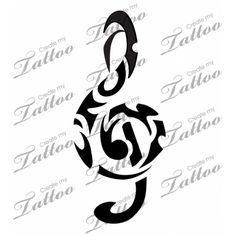 tatouage tribal musique