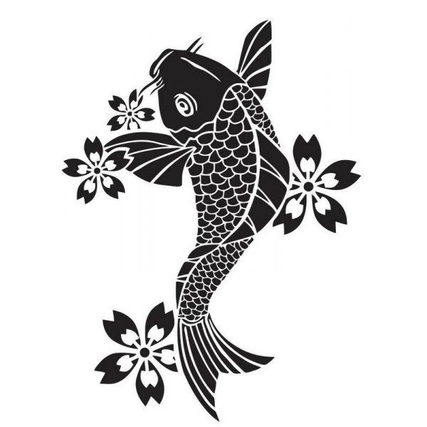 tatouage tribal poisson
