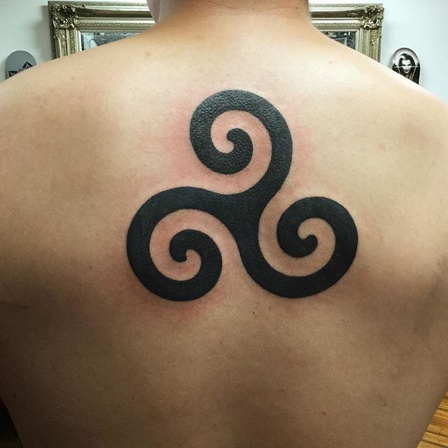 tatouage triskel