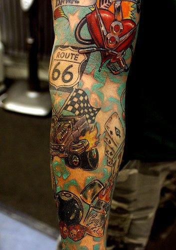 tatouage voiture