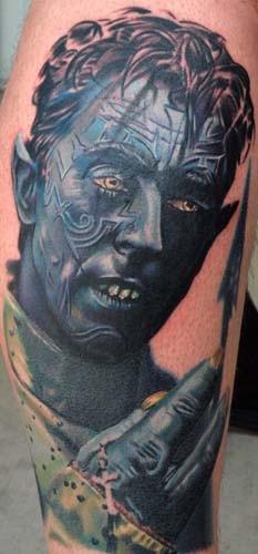 tatouage x-men