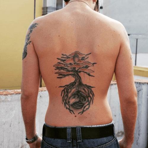 Tatouage Yggdrasil