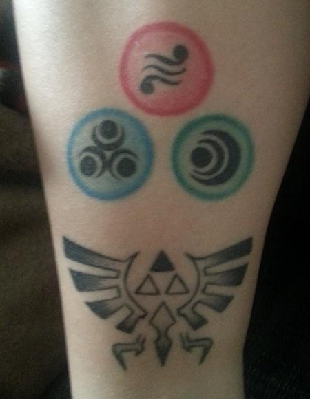 tatouage zelda