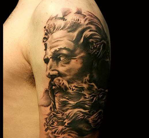 Tatouage Zeus