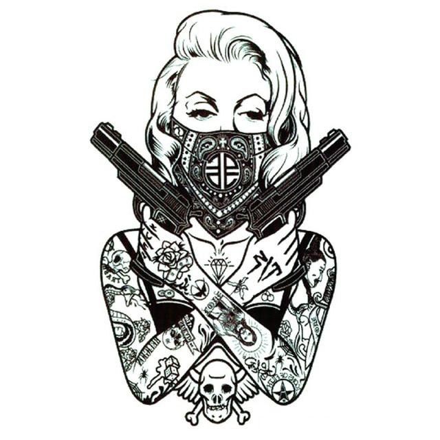 tatouage 007