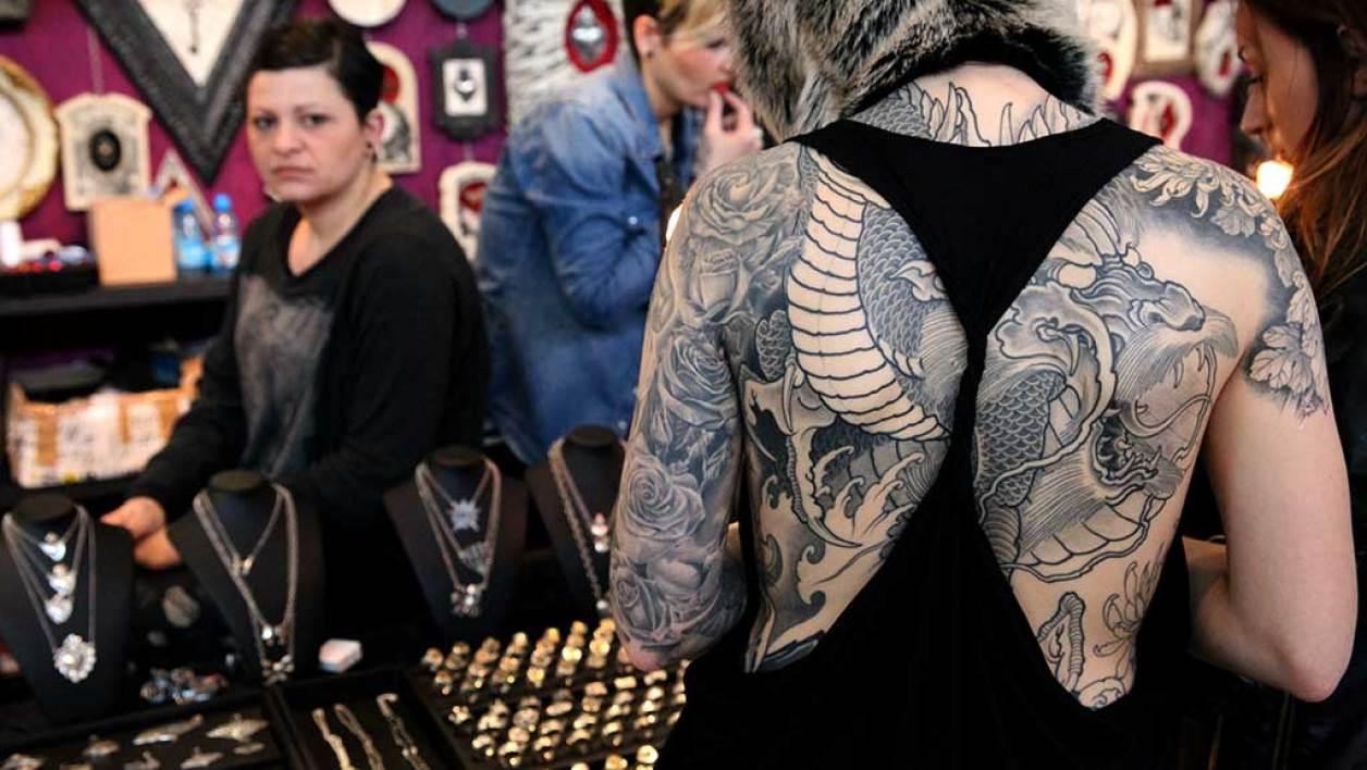 tatouage 1 pour cent