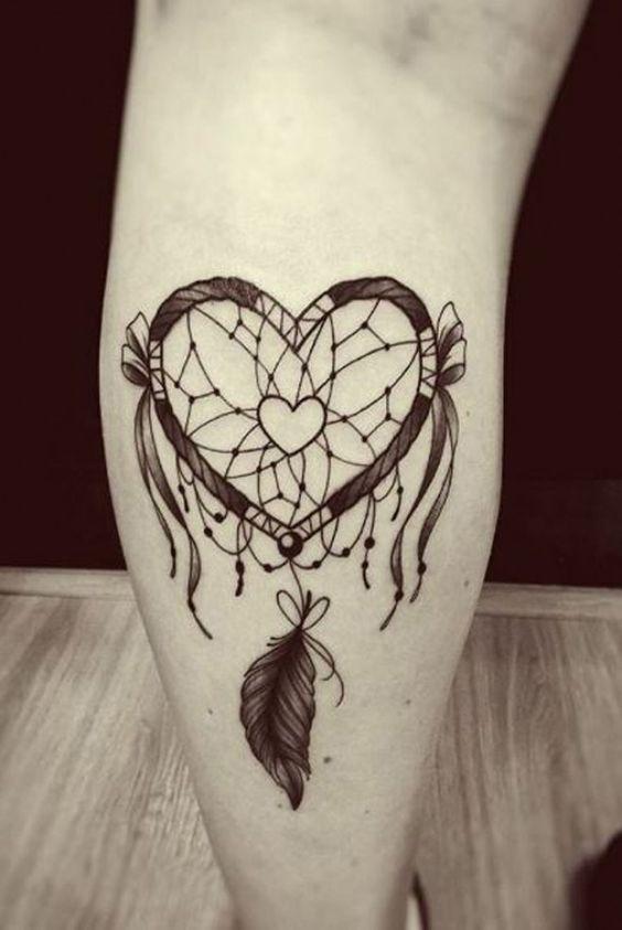 tatouage attrape reve